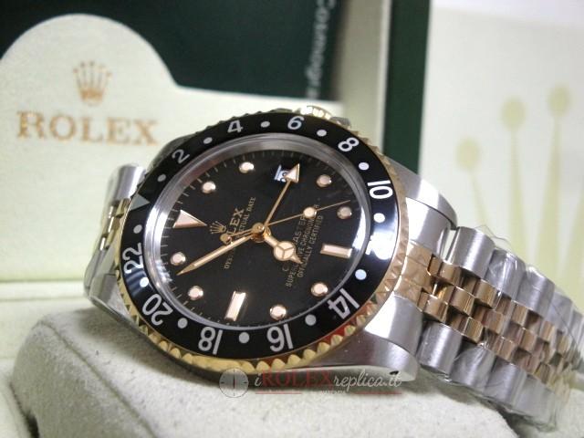 orologio b6606 b7386 rolex replica GMT master II vintage acciaio oro occhio di tigre orologio  replica